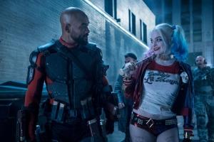 Suicide Squad Harley Quinn Deadshot Sinema Kanvas Tablo