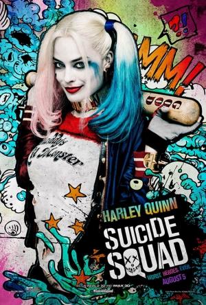 Suicide Squad Harley Quinn Poster Kanvas Tablo