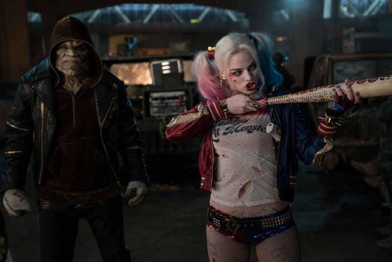 Suicide Squad Harley Quinn Sinema Kanvas Tablo