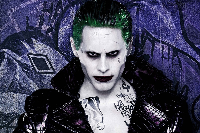 Suicide Squad Joker Kanvas Tablo