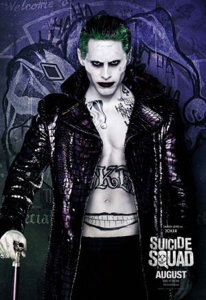 Suicide Squad Joker Poster Kanvas Tablo 2