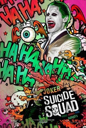 Suicide Squad Joker Poster Kanvas Tablo