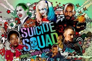 Suicide Squad Karakterleri Kanvas Tablo 2