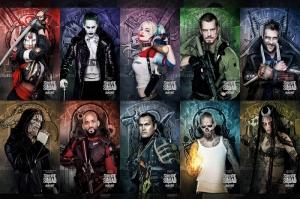 Suicide Squad Karakterleri Kanvas Tablo 3