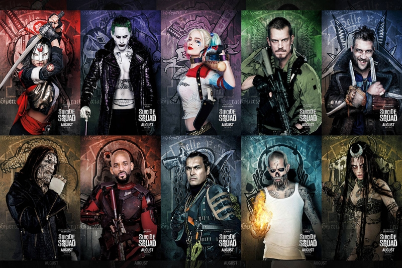 Suicide Squad 2016 Movie Free Download HD 720P
