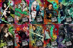 Suicide Squad Karakterleri Kanvas Tablo 1