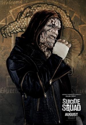 Suicide Squad Killer Croc Poster Kanvas Tablo 2