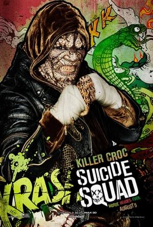 Suicide Squad Killer Croc Poster Kanvas Tablo