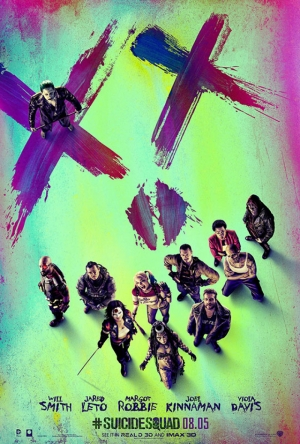 Suicide Squad Pop Art Poster Kanvas Tablo