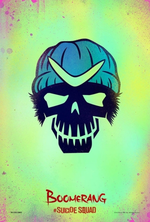Suicide Squad Pop Art Poster Tablo Captain Boomerang