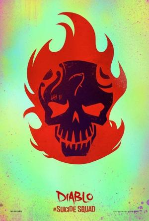 Suicide Squad Pop Art Poster Tablo El Diablo