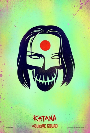 Suicide Squad Pop Art Poster Tablo Katana