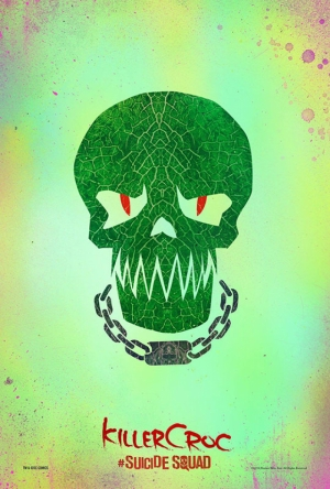 Suicide Squad Pop Art Poster Tablo Killer Croc