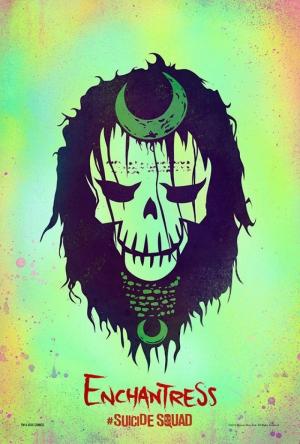 Suicide Squad Pop Art Poster Tablo The Enchantress