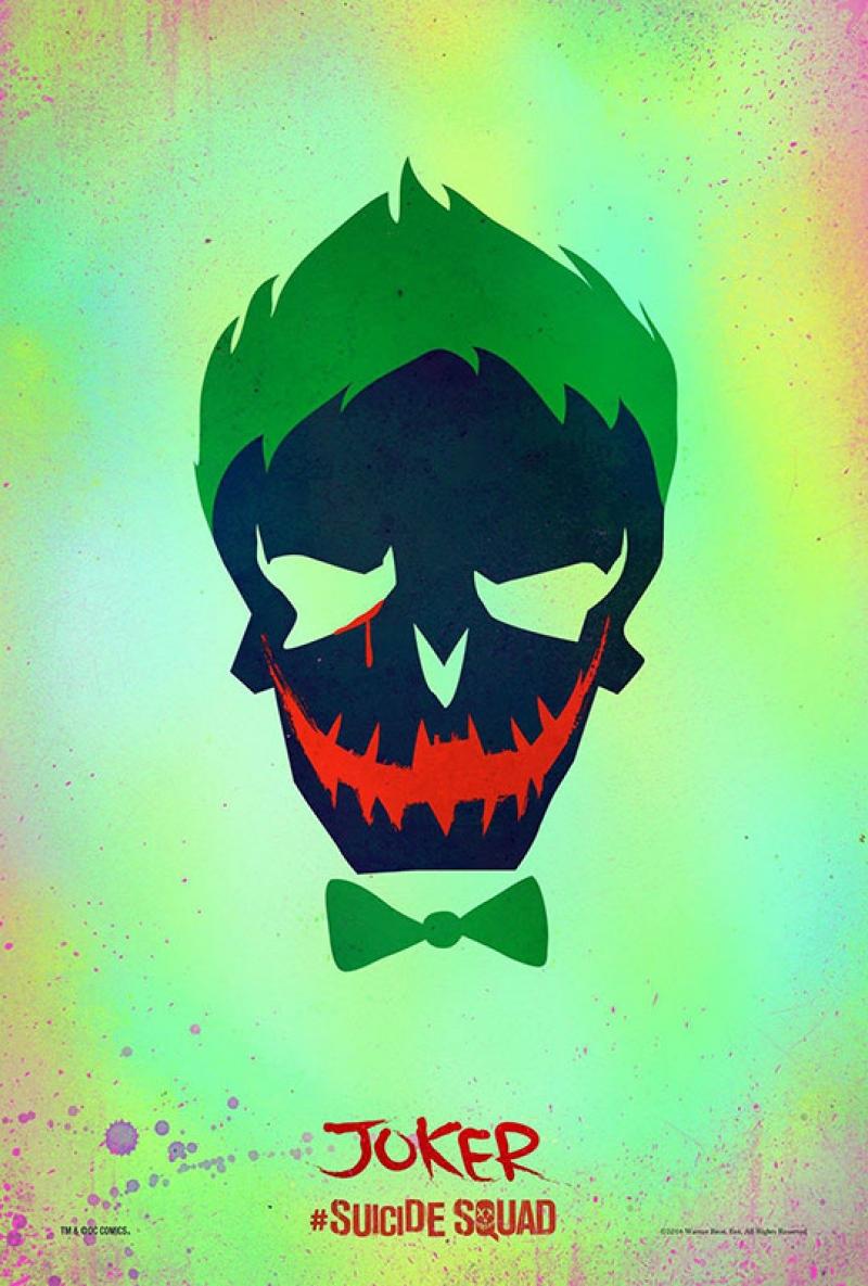 Suicide Squad Pop Art Poster Tablo The Joker