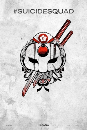 Suicide Squad Pop Art Tattoo Poster Kanvas Tablo Katana