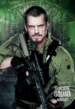 Suicide Squad Rick Flag Poster Kanvas Tablo 2