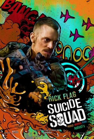 Suicide Squad Rick Flag Poster Kanvas Tablo