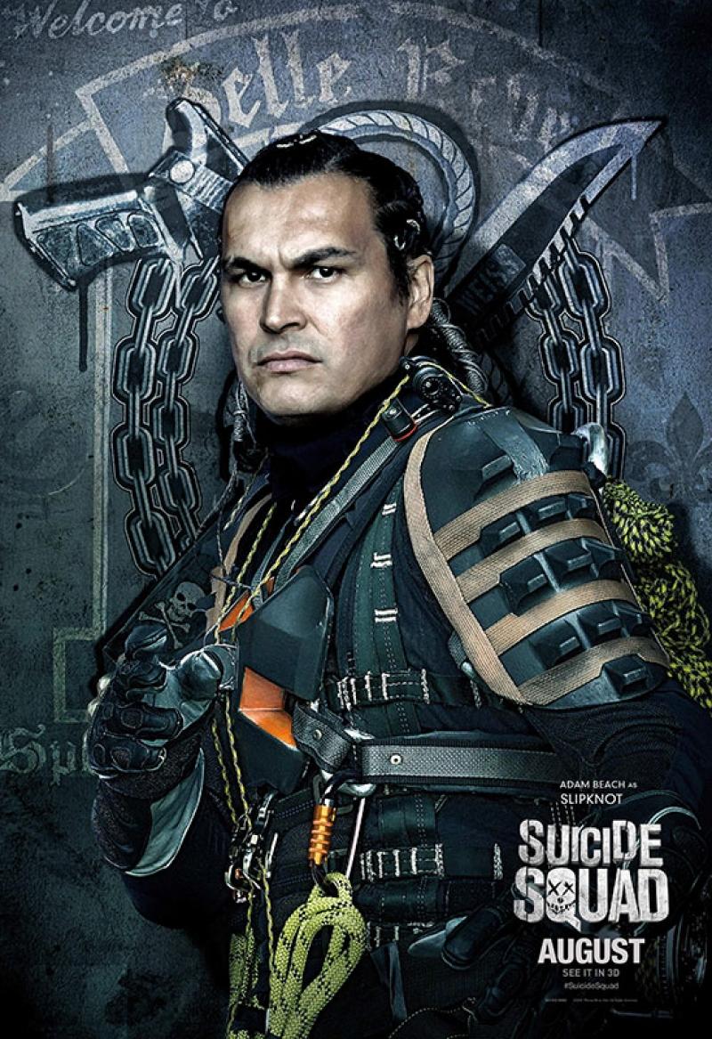 Suicide Squad Slipknot Poster Kanvas Tablo 2