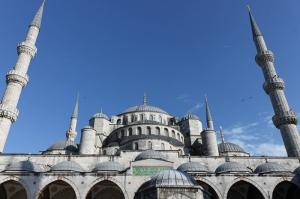 Süleymaniye Camii Dış Görünüm 2 Dini & İnanç Kanvas Tablo