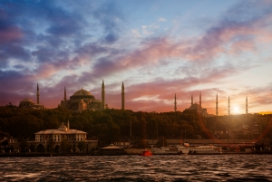Sultan Ahmet Camii İstanbul 2 Dünyaca Ünlü Şehirler Kanvas Tablo