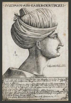 Sultan Süleyman Han Osmanlı Tarihi Kanvas Tablo
