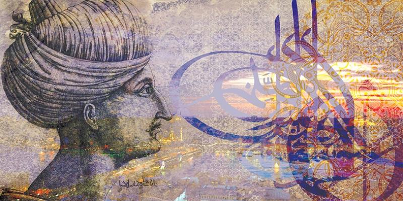 Sultan Süleyman ve İstanbul Osmanlı ve İslami Exclusive Kanvas Tablo
