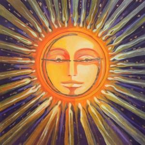 Sun And Peace Sanat Kanvas Tablo