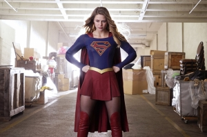 Supergirl DC Comics Melissa Benoist-2 Kanvas Tablo