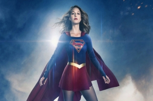 Supergirl DC Comics Melissa Benoist Kanvas Tablo
