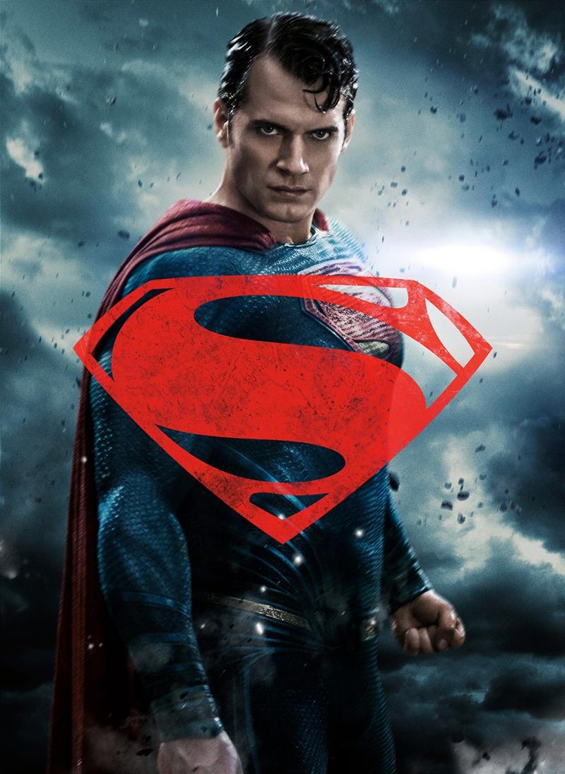 Süperman Alternatif Afiş 3 Süper Kahramanlar Kanvas Tablo