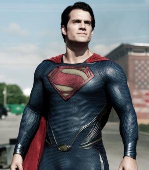 Süperman Film Sahnesi Süper Kahramanlar Kanvas Tablo