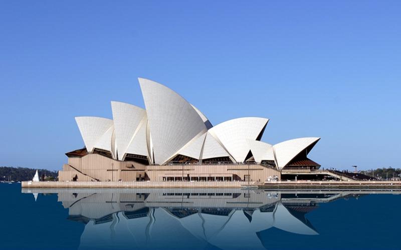 Sydney Opera Binası 2 Dünyaca Ünlü Şehirler Kanvas Tablo