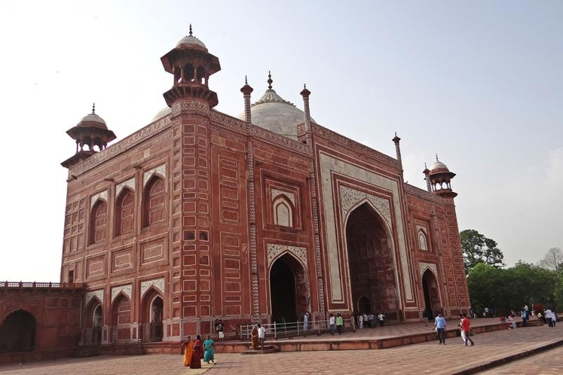 Taj Mahal 3 Unesco Dünya Kültür Mirasları Kanvas Tablo