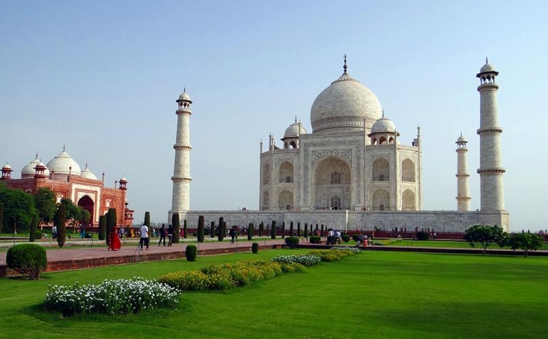 Taj Mahal 5 Unesco Dünya Kültür Mirasları Kanvas Tablo