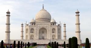 Taj Mahal 6 Unesco Dünya Kültür Mirasları Kanvas Tablo