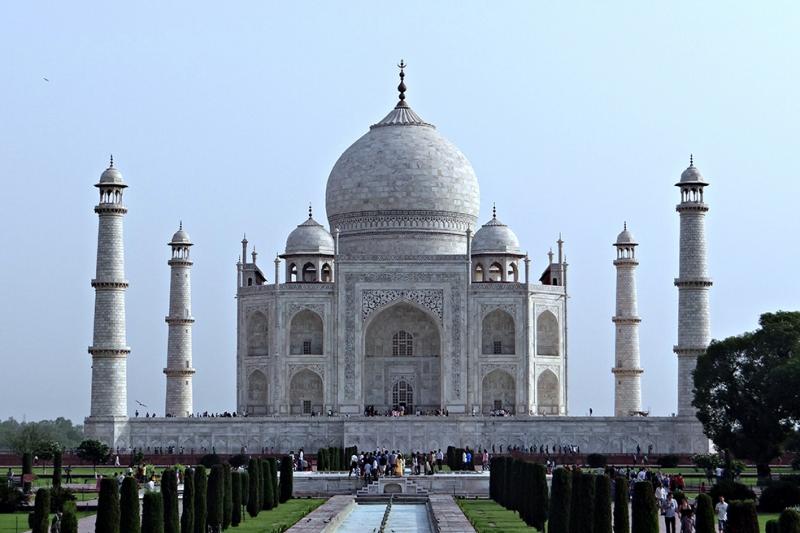 Taj Mahal 7 Unesco Dünya Kültür Mirasları Kanvas Tablo