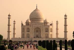 Taj Mahal Unesco Dünya Kültür Mirasları Kanvas Tablo