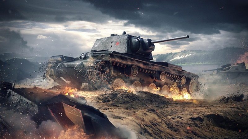 Tank Askeri Kanvas Tablo