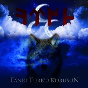 Tanrı Türk'ü Korusun Kurt Kanvas Tablo