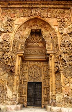 Tarihi Kapı Fotoğraf Kanvas Tablo