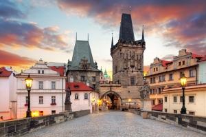 Tarihi Manzara Dünyaca Ünlü Şehirler Kanvas Tablo