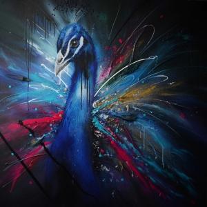 Tavuz Kuşu-1 Klasik Sanat Kanvas Tablo