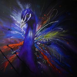 Tavuz Kuşu-2 Klasik Sanat Kanvas Tablo