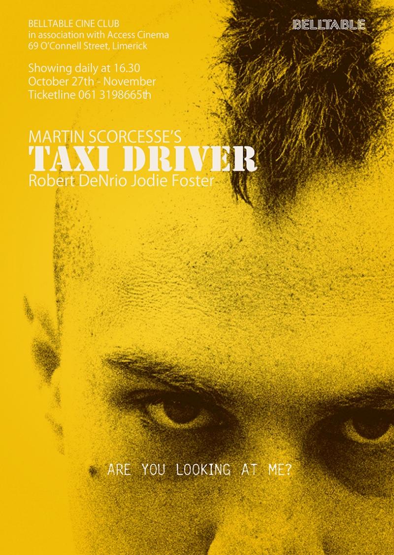 Taxi Driver Robert De Niro Kanvas Tablo