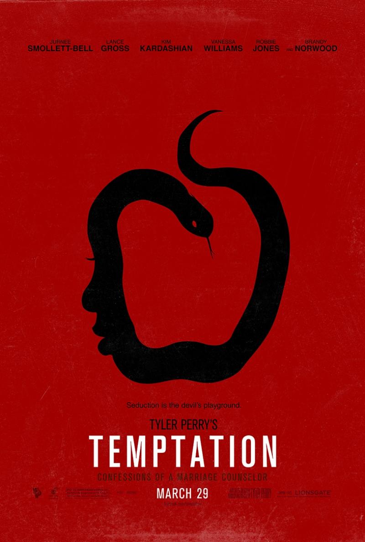 Temptation Film Afiş Kanvas Tablo