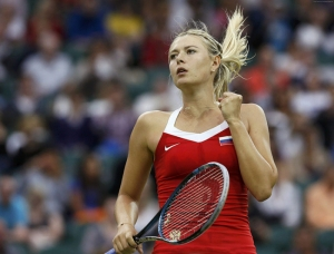 Tenis Maria Sharapova Spor Kanvas Tablo