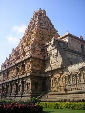 Thanjavur Hindistan Temple Hindu 2 Unesco Dünya Kültür Mirasları Kanvas Tablo