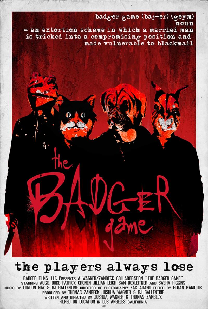 The Badger Game Afiş Kanvas Tablo