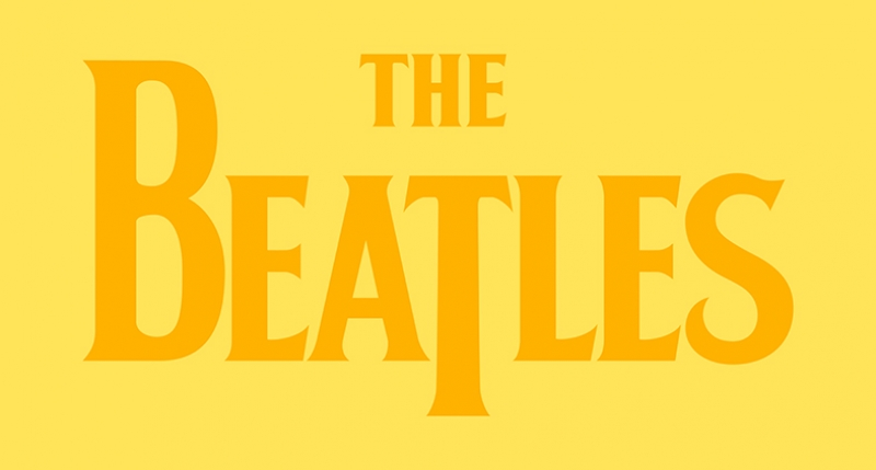 The Beatles Logo Popüler Kültür Kanvas Tablo